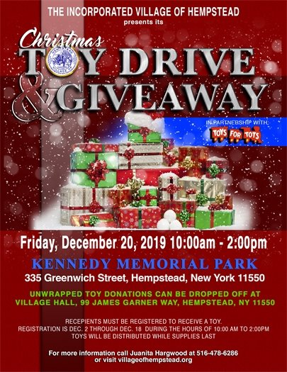 Christmas Toy Drive and Giveaway