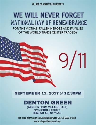 9/11 National Day of Remembrance