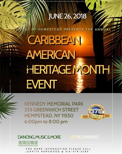 Caribbean American Heritage Month Event