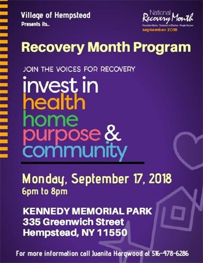 Annual Recovery Month