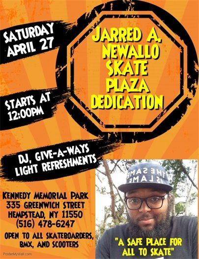 Jarred A. Newallo Skate Park at Kennedy Memorial Park