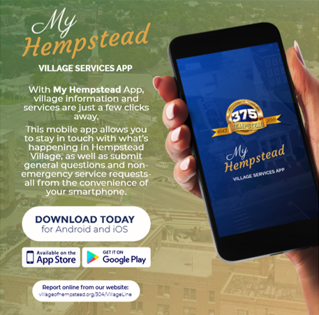 My Hempstead App Flyer